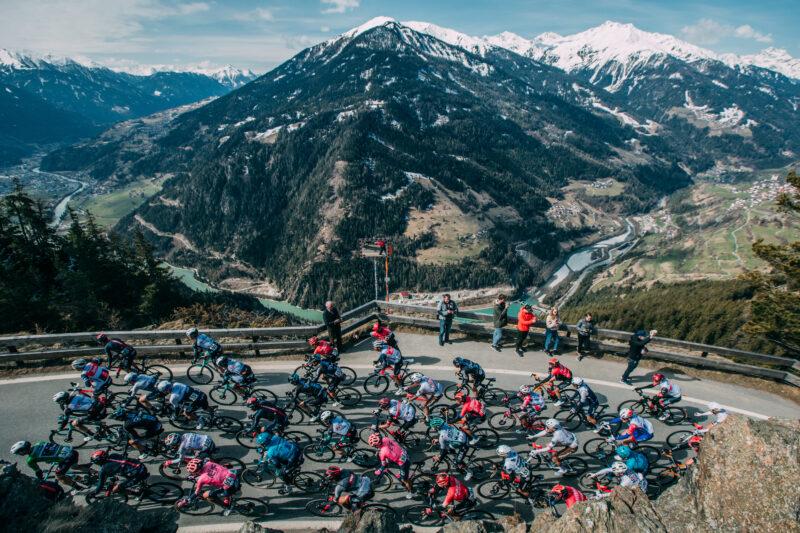 Wednesday April 21 2021 45thTour of the Alps (2.Pro) Stage 3 Imst- Naturns (162km)   Photo: Francesco Rachello / Tornanti.cc