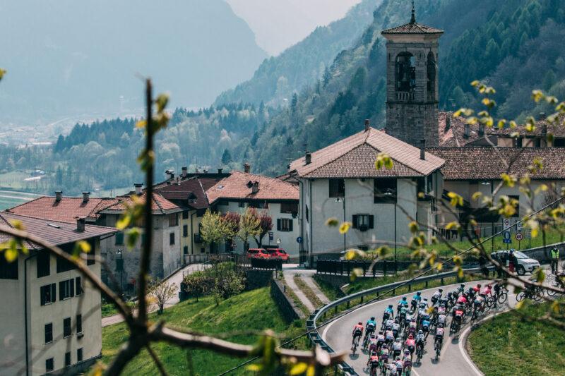 Thursday April 22 2021 45thTour of the Alps (2.Pro) Stage 4 Naturns - Pieve di Bono (168.6km)   Photo: Francesco Rachello / Tornanti.cc